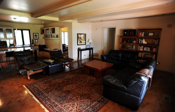 Sala de estar terminada de Hyacinth