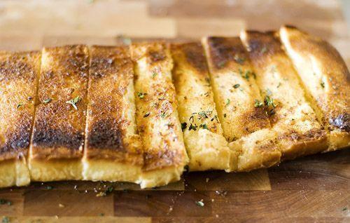 Maslový chlieb tymián