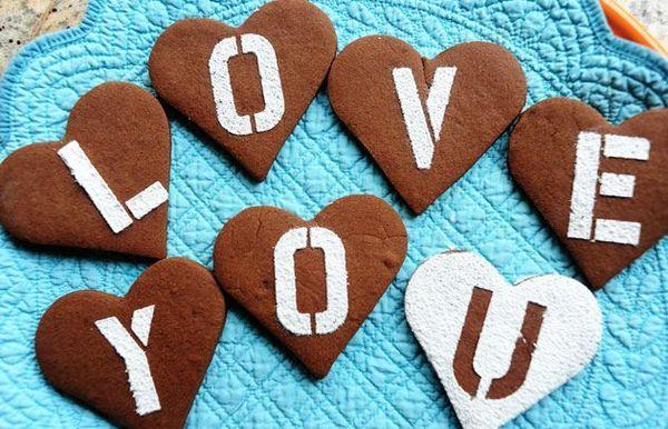 San Valentín de chocolate