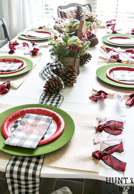 29 decoraciones de mesa navideñas de bricolaje para un hermoso comedor navideño