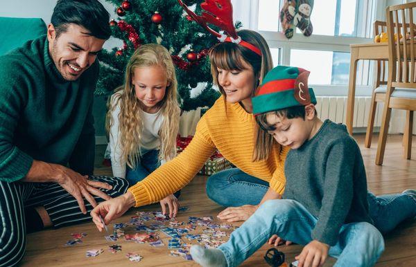 30 divertidos juegos navideños para jugar con tu familia