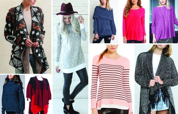 ¡Hurra por el clima de suéter!