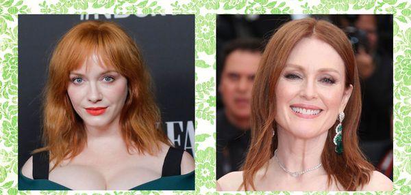 30 labākās idejas par sarkanu matu krāsu