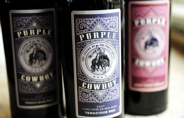 Идея за коледни / празнични подаръци: Лилави каубойски вина