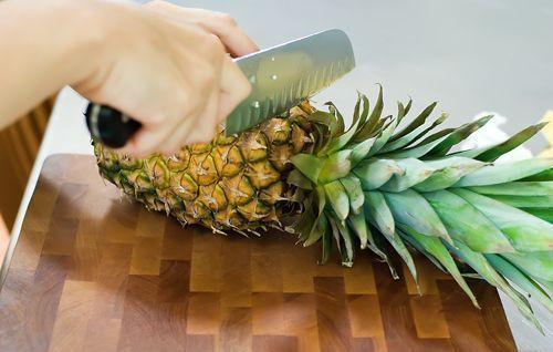 Kuidas ... ananassi tükeldada