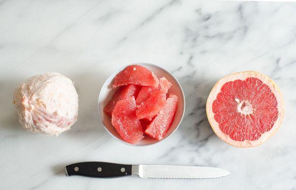 3 formas de cortar una toronja