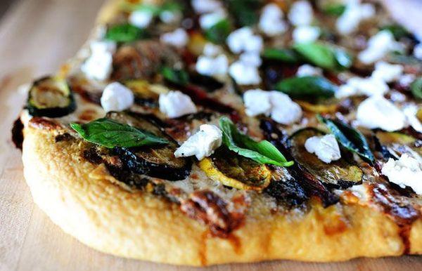 Pizza de Vegetales a la Parrilla