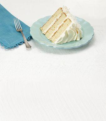 Pastel con cubierta de coco