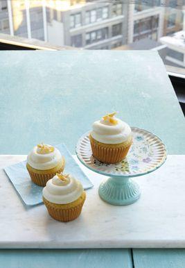 Los cupcakes de limón doble serán tu nuevo regalo favorito