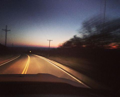 सुबह की ड्राइव