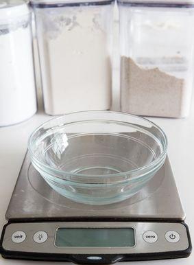 Ferramentas de cozimento favoritas: balança de cozinha