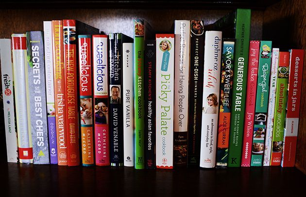 ये मेरे पसंदीदा में से कुछ हैं...रसोई की किताबें!