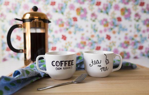 Vlastné hrnčeky na kávu