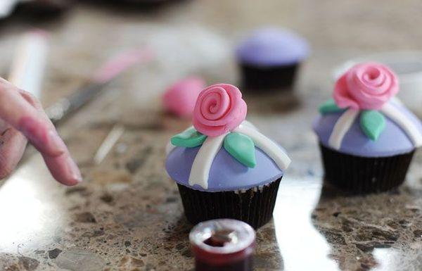 Fondantais padengti cupcakes, pirmoji dalis