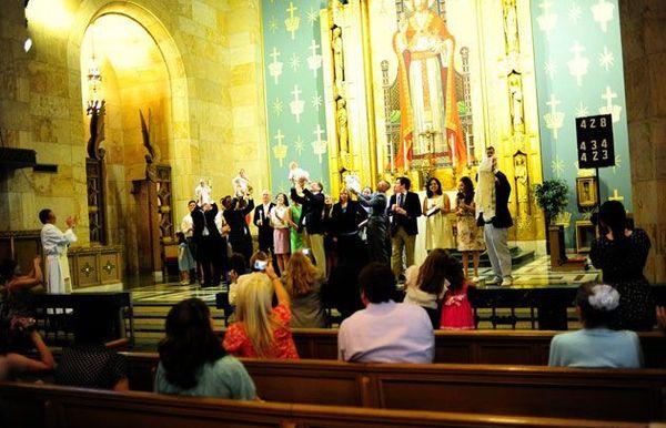 Un bautismo de Domingo de Ramos