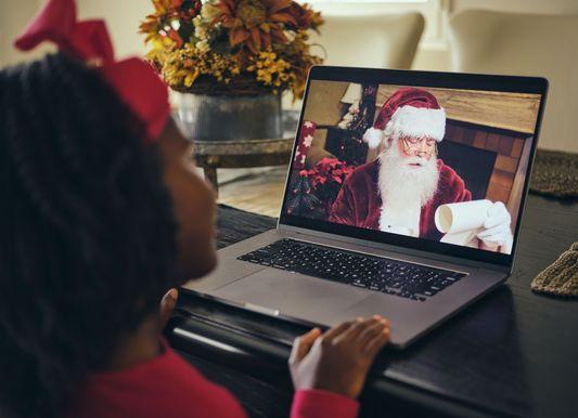 Šie virtualūs Kalėdų Senelio apsilankymai taps nepamirštamomis Kalėdomis jūsų vaikams