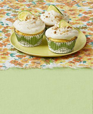 Cupcakes de tarta de lima