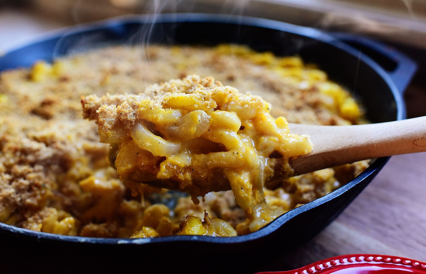 Macarrones con queso Butternut