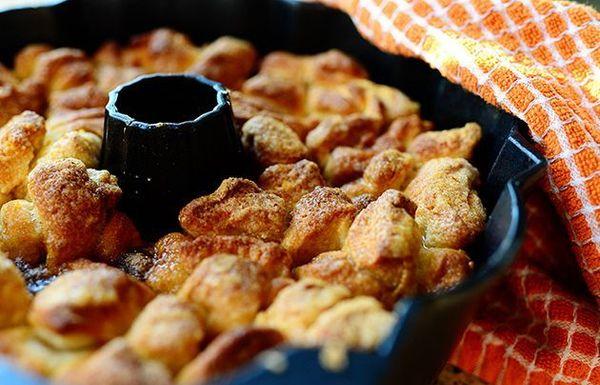 Pan de mono con naranja y vainilla