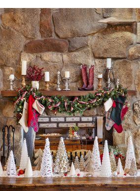 Vegeu les fotos de les decoracions de Nadal de somni de la casa de camp