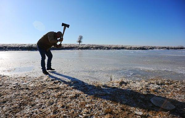 Working Ranch 101: Cómo picar hielo