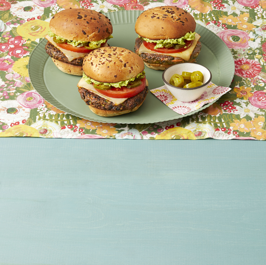 Chipotle mustade ubade burgerid
