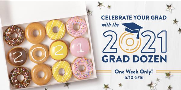 Krispy Kreme annab kõigile 2021 lõpetajale ära kümned tasuta sõõrikud
